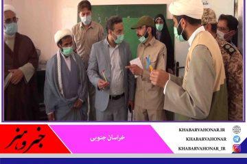 بازدید  رئیس بسیج سازندگی کشور از گروههای جهادی مستقر در روستاهای نوار مرزی شهرستان سربیشه