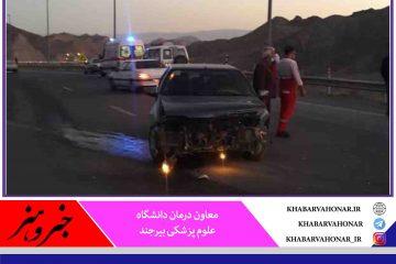 حوادث ترافیکی در خراسان جنوبی ۶۰ درصد افزایش یافت