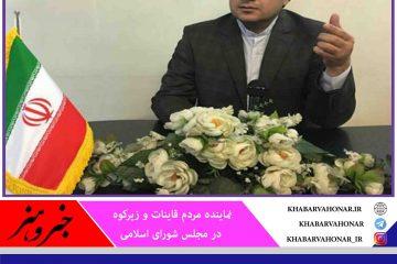 نمایندگان استان بازوی قدرتمند برای پیشبرد اهداف نظام  مقدس جمهوری اسلامی ایران و توسعه خراسان جنوبی هستند
