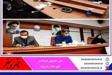 از ایده های سازنده بانوان شهرستان بشرویه استقبال میکنیم