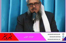 تبریک مولوی غلام حیدر فاروقی از علمای اهل سنت خراسان جنوبی به رئیس جمهور منتخب