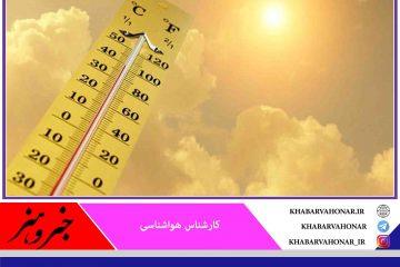 ثبت دمای بیش از ۴۰ درجه در ۹ شهرستان در خراسان جنوبی