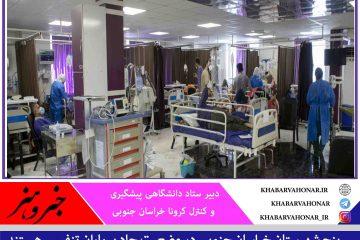 پنج شهرستان خراسان جنوبی در وضعیت حاد بیماران تنفسی هستند