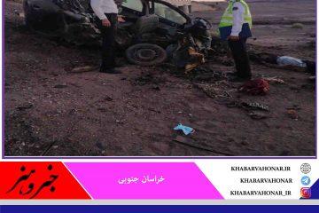 ۵ قربانی در برخورد ۲۰۶ با کامیون کشنده