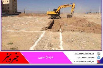 آمادهسازی سایت ۷۹ هکتاری مسکن ملی در طبس آغاز شد