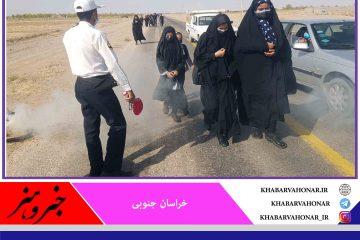 برگزاری مراسم عزاداری و پیاده روی در زیرکوه