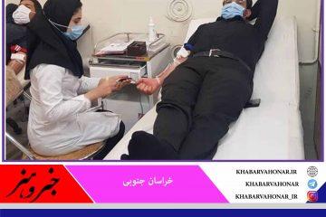 اهدای خون ۳ هزار و ۳۹۲ شهروند خراسان جنوبی در ماه محرم و صفر