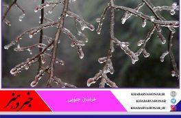 سرما و یخبندان در خراسان جنوبی فراگیر میشود